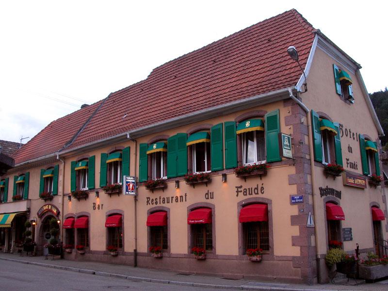 Bon plan séjour à Lapoutroie à l'hôtel-restaurant le Faudé en Alsace