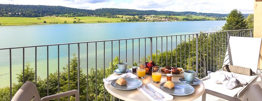 Bon plan week-end en hôtel & spa les Rives Sauvages à Malbuisson en Franche Comté
