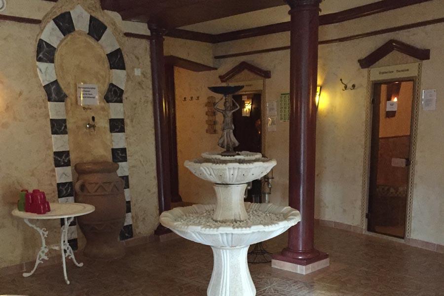 Espace sauna hôtel Basler Hof Wellnesshotel
