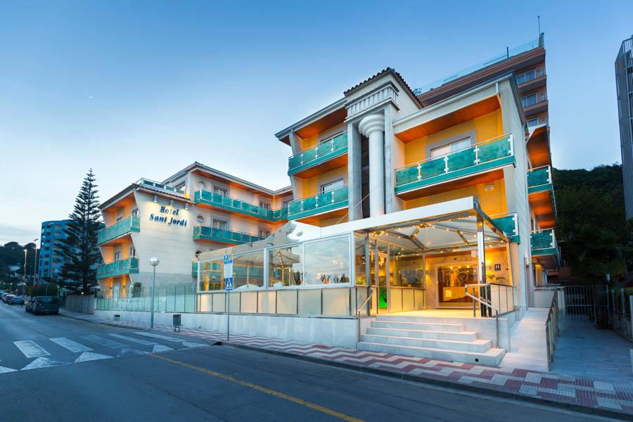 Sant Jordi Boutique Hotel à Calella en Espagne