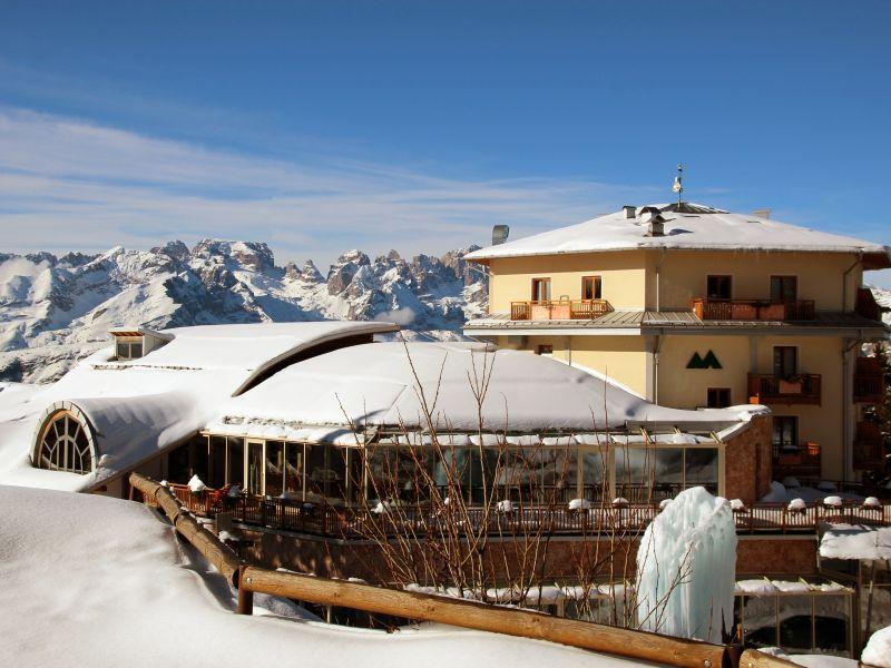 Séjour dans les dolomites en Italie à l'hôtel Montana Family Wellness