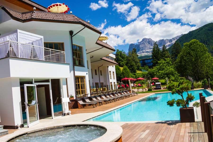 séjour pas cher dans les Dolomites en Italie à l'hôtel Nova Levante à l'hôtel Engel Resort & Spa