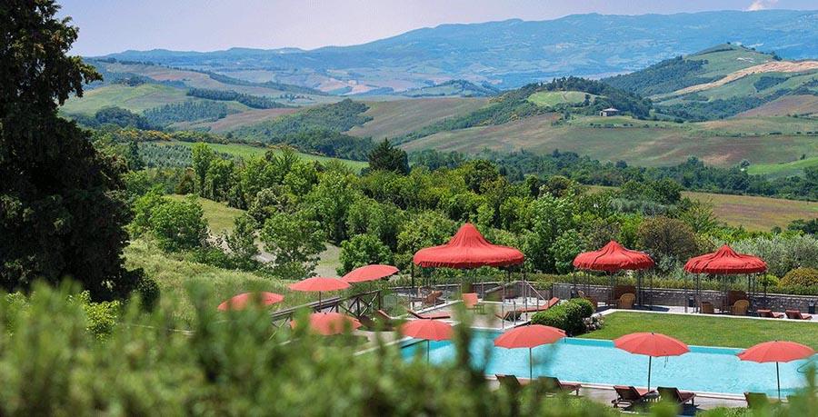 Week-end spa en Toscane en Italie à l'hôtel Fonteverde