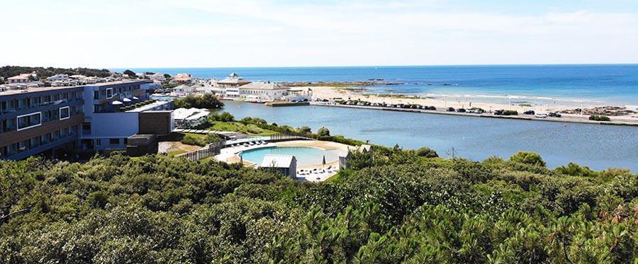 Weekend spa à l'hôtel Côte Ouest Thalasso dans les Sables d'Olonne